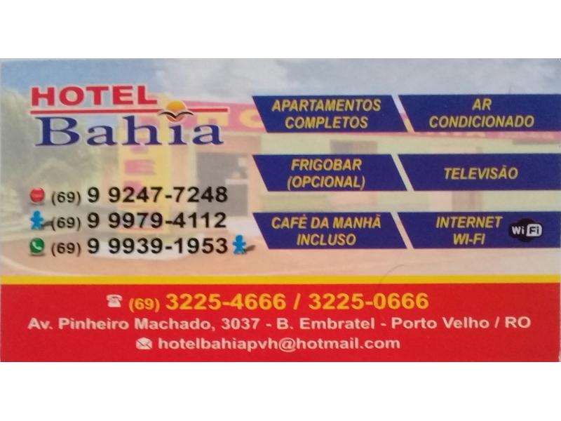 Hotel Popular em Porto Velho - Hotel Bahia