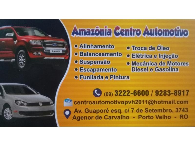 Centro Automotivo no agenor de carvalho em Porto Velho - AMAZÔNIA CENTRO AUTOMOTIVO