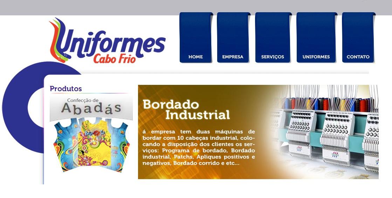 BORDADO INDUSTRIAL EM CABO FRIO - UNIFORMES CABO FRIO - RJ