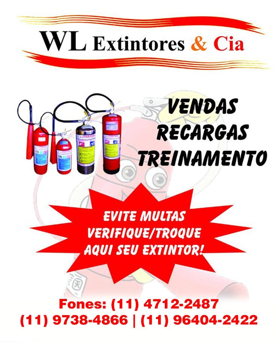 WL EXNTINTORES - EXTINTOR DE INCENDIO EM SAO ROQUE - SP
