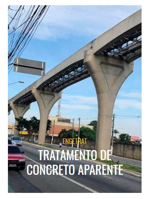 TRATAMENTO DE CONCRETO APARENTE PERDIZES - SP