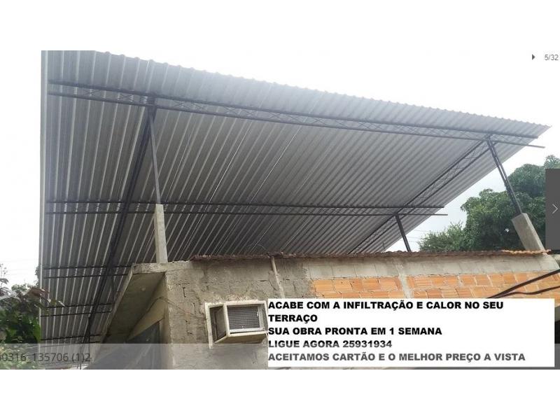 TELHADOS PARA TERRAÇOS EM CABO FRIO - RJ