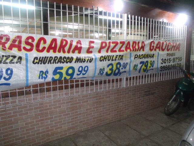 CHURRASCARIA PIZZARIA GAUCHA EM CAMPOS DOS GOYTACAZES - RJ
