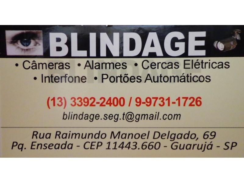 Interfones câmeras alarmes portões automáticos cercas elétricas Guarujá Santos