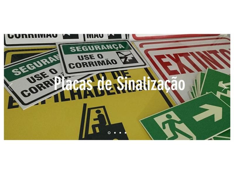 PLACAS DE SINALIZAÇÃO EM CAMPOS DOS GOYTACAZES - RJ
