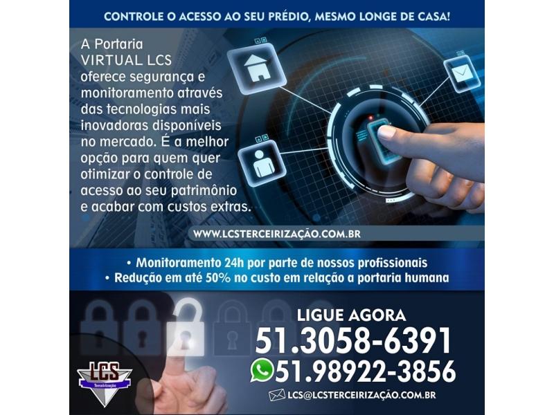 SERVIÇO DE PORTARIA 24 HORAS EM CRISTAL - RS