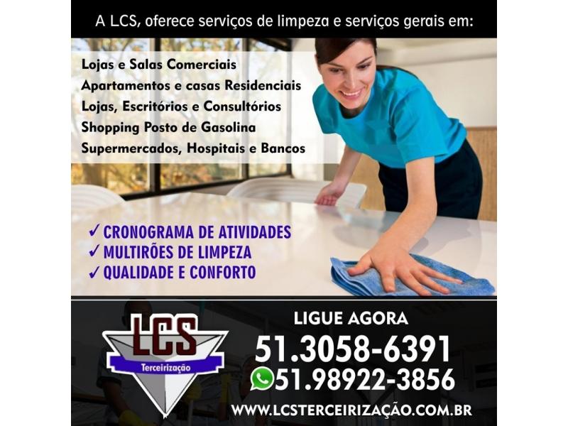 LIMPEZA DE LOJAS ESCRITÓRIOS CONSULTÓRIOS SHOPPINGS POSTOS SUPERMERCADOS HOSPITAIS E BANCO EM CAMAQUÃ - RS