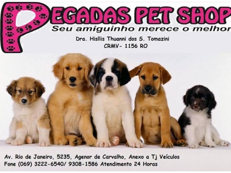 Clinica Veterinária no Agenor de Carvalho em Porto Velho - PEGADAS PET SHOP