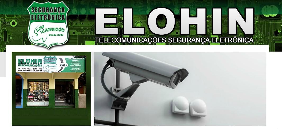 PORTEIRO ELETRONICO EM CABO FRIO - ELOHIN TELECOMUNICACOES - RJ