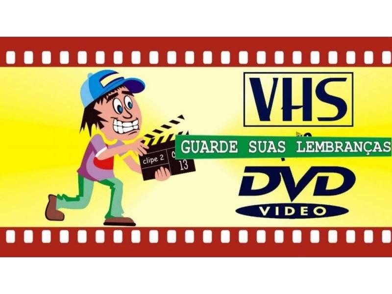 CONVERSÃO DE VÍDEO VHS LASERDISC E SLIDES EM COPACABANA - RJ