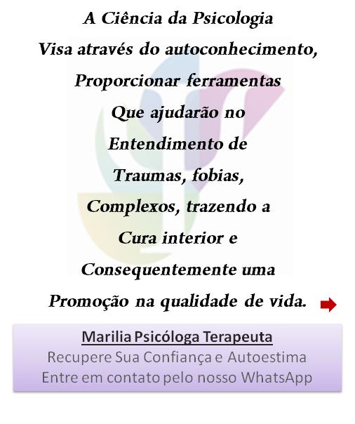 Psicóloga Terapia em Santos Marilia Psicóloga Terapeuta