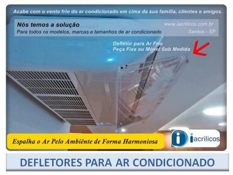 Defletores para Ar Condicionado em Belo Horizonte MG