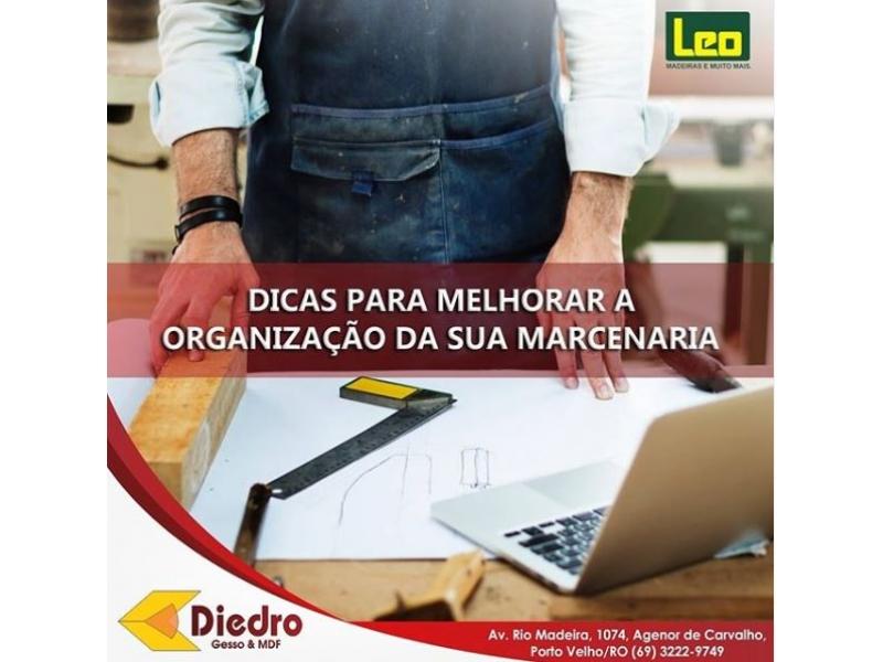 MDF e Marcenaria em Porto Velho - DIEDRO Gesso & MDF