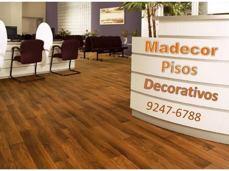 Revestimentos em Pisos e Paredes - MADECOR Pisos Decorativos