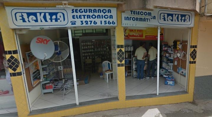 ELEKTRA - SEGURANCA ELETRONICA EM MAR DE ESPANHA - MG