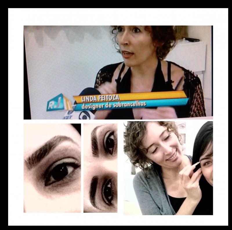 Linda Feitoza Migropigmentação de sobrancelhas