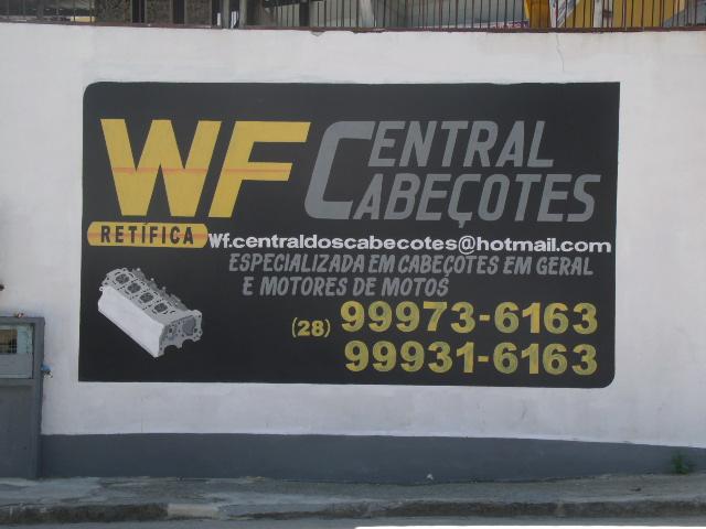 WF CENTRAL CABEÇOTES -RETíFICA DE MOTORES MOTOS CABEÇOTES EM CACHOEIRO DE ITAPEMIRIM ES WF CENTRAL CABEÇOTES