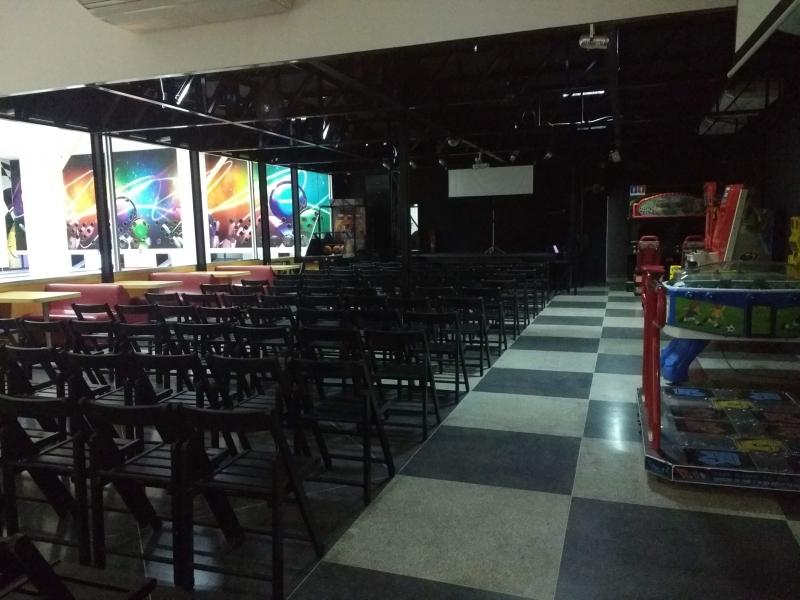 ALUGUEL DE ESPAÇO PARA FESTAS E EVENTOS EM BARREIRAS BA - STRIKE & CIA BOLICHE