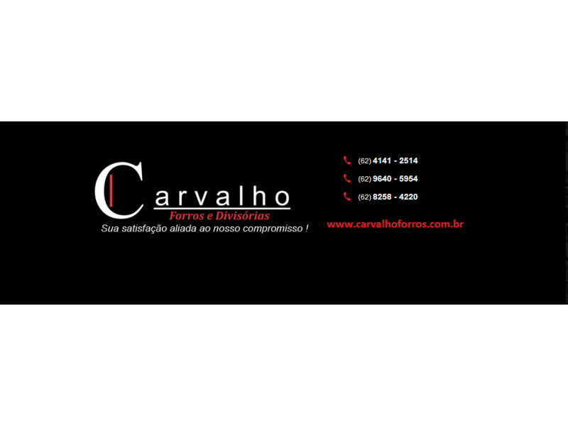 FORRO PVC EM GOIÂNIA GO -  CARVALHO FORRO E DIVISÓRIAS - WHATSAP ONLINE !