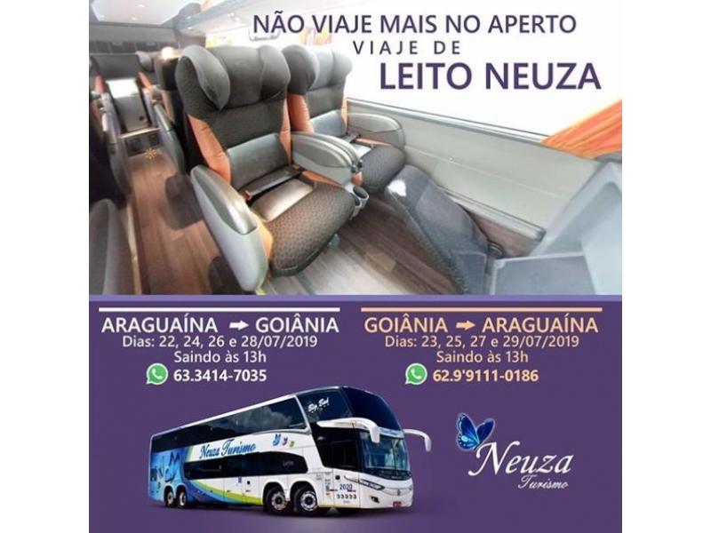 Cargas e Encomendas Goiânia para Araguaína - NEUZA TURISMO