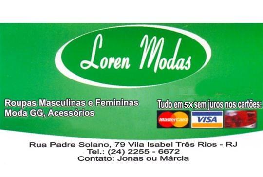 MODA MASCULINA, FEMININA E INFANTIL EM TRÊS RIOS