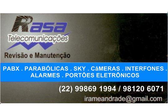SERVIÇO DE TELECOMUNICAÇÕES EM BÚZIOS
