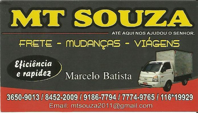 FRETE E MUDANCAS EM SANTA CRUZ DA SERRA - MT SOUZA